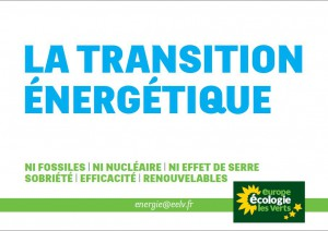 La transition energetique - nov 2012
